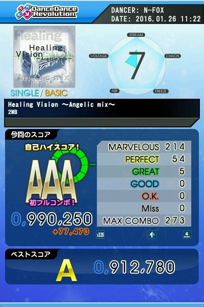 Healing Vision Angelic mix(楽)AAA