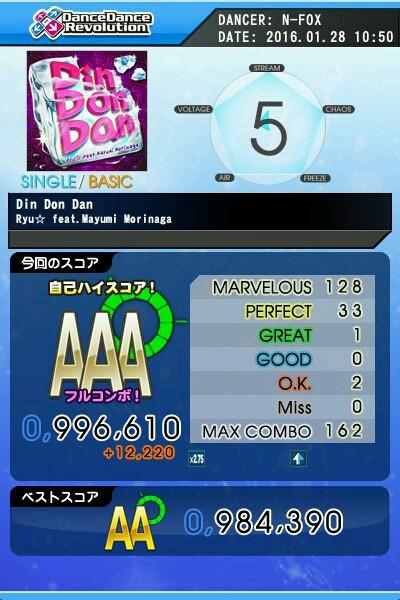 Din Don Dan(楽)AAA