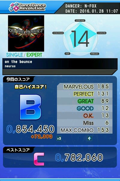 on the bounce(激)B