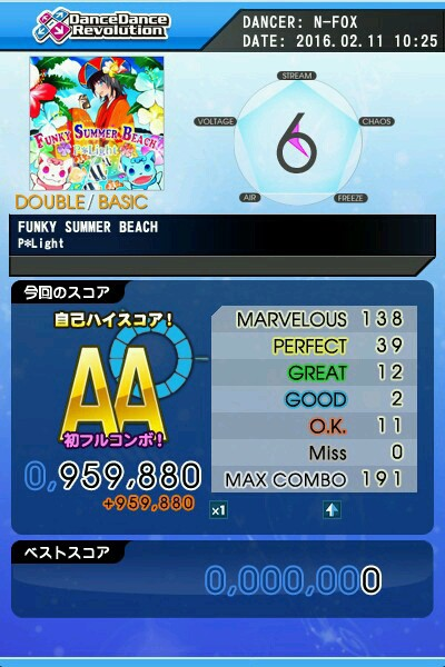 FUNKY SUMMER BEACH BDP AA 青フルコン