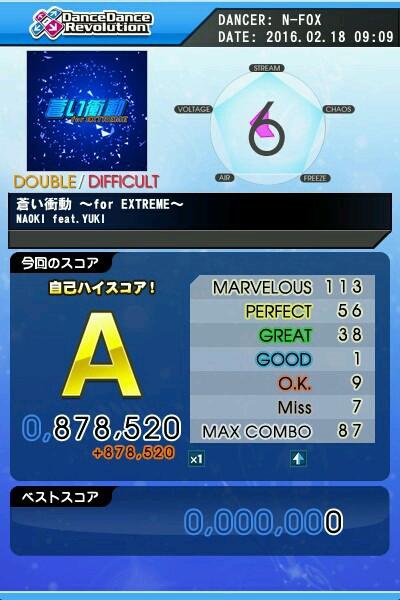 青き衝動 ~for EXTREME~ DDP A