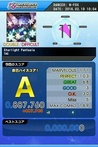 Starlight Fantasia DDP A