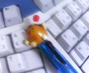 たこ焼きペン・・・。なかなか長持ち・・・。