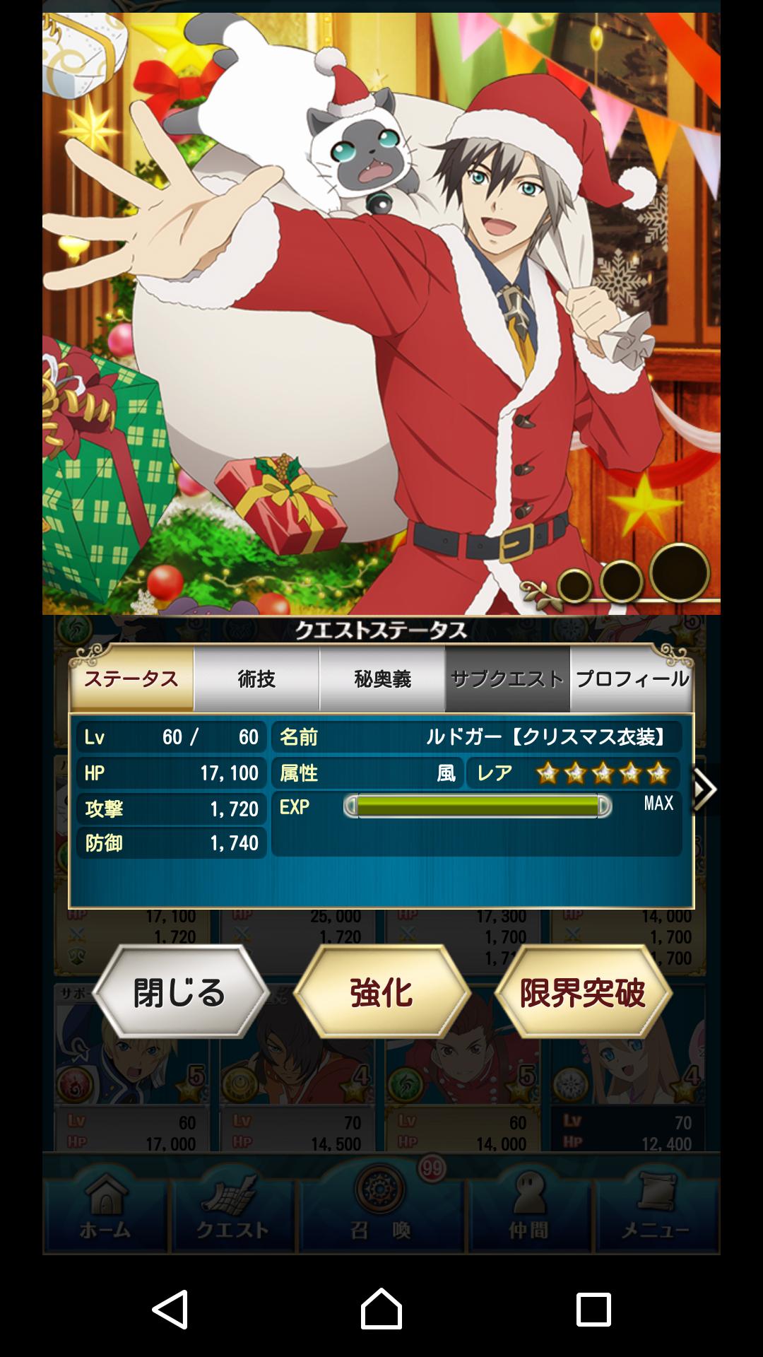 クリスマスルドガー