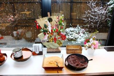 京都お正月雪