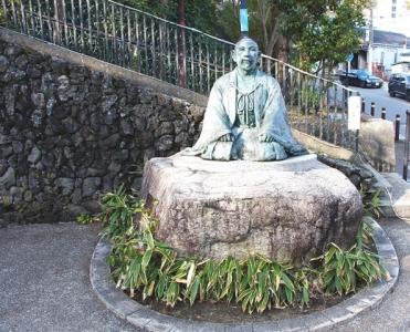 有馬温泉太閤秀吉の像