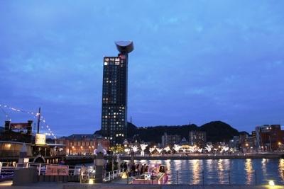 門司港レトロ地区の夜景