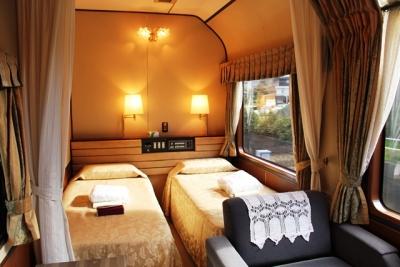 シングルベッド2台トワイライトエクスプレス