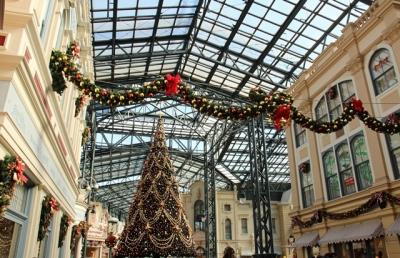 TDLワールドバザールクリスマスツリー