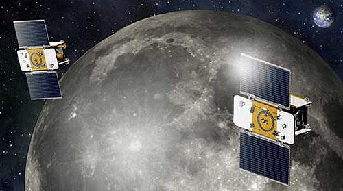 NASAの月探査機「グレイル」