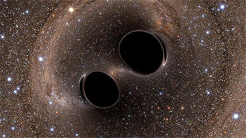 ブラックホールの合体