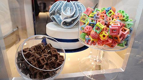 お菓子用3Dプリンター