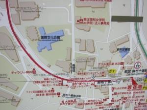 地図麻布十番街