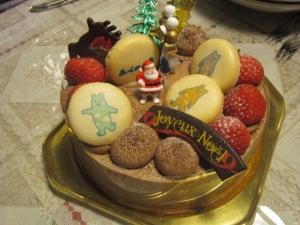 あべのべあクリスマスケーキ