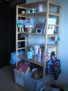 子ども部屋棚1