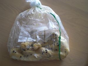 クッキー製作中