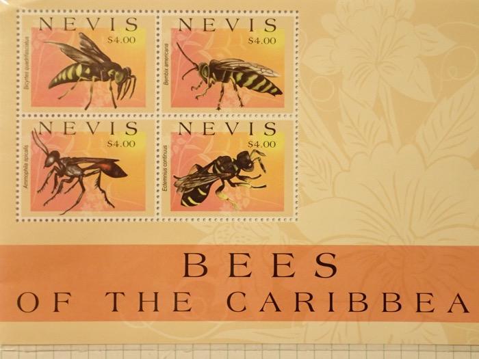 蜂の仲間(3)切手