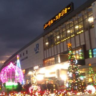 岡山 駅前イルミaa