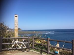 イルカ岬バイクスタンド2