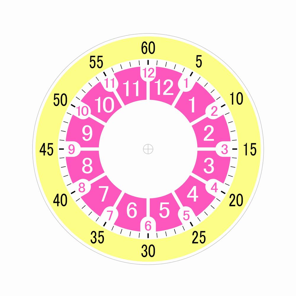 子供時計文字盤 A5