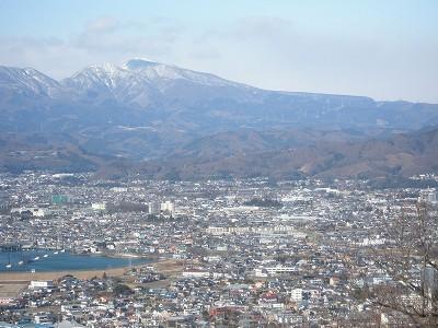 1 黒檜山と花見ヶ原遠望