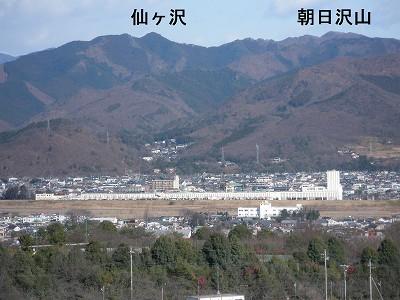 1 仙人ヶ岳(籾山峠から)