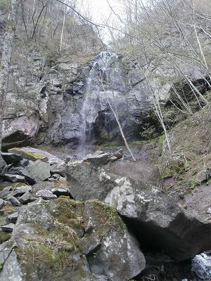 8 三段の滝中段
