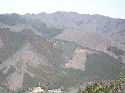 仙人ヶ岳(石尊山から)