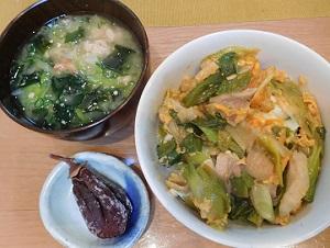 岩津葱の丼2