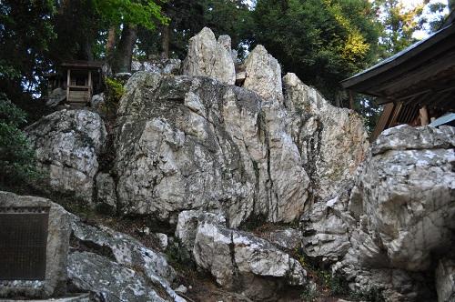 鹿島大神宮・ペグマタイト