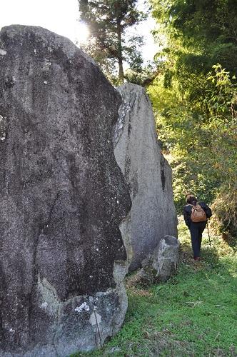 立石6大きさ比べ