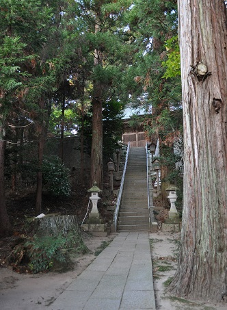 鹿島神宮階段