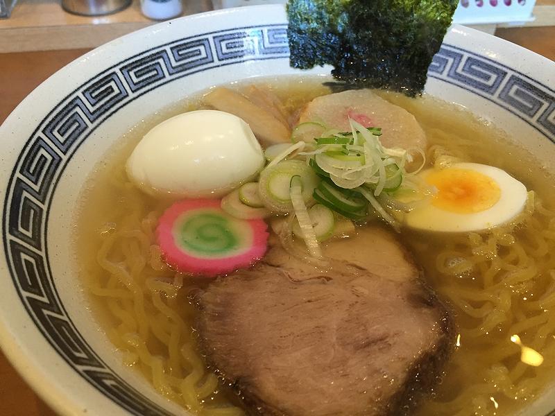薫薫塩ラーメン2016-1-24