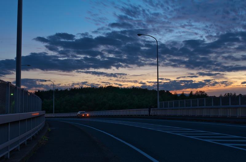 名阪国道 夕景・夜景