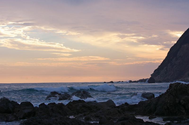 和歌山県日高郡美浜町の磯・海・波