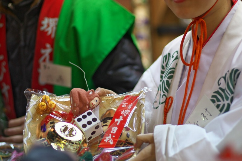 堺戎(菅原)神社の福娘 2016