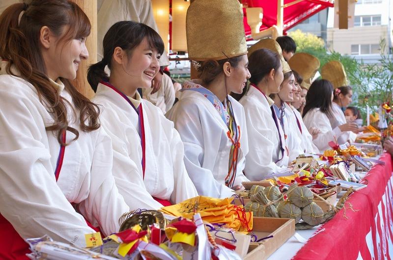 今宮戎神社の福娘 2016