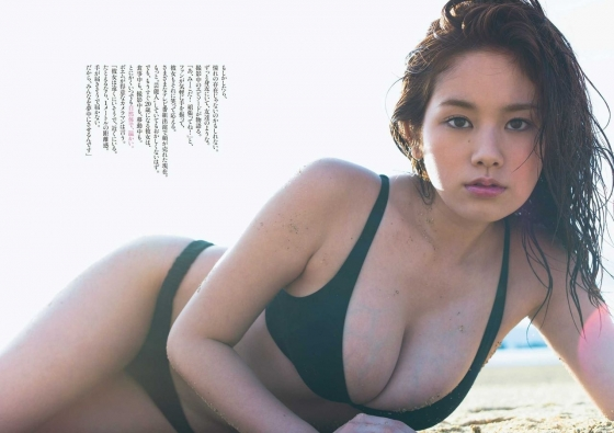 筧美和子 水着グラビア復活で久しぶりに見せたHカップ爆乳 画像30枚 19