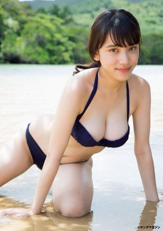 都丸紗也華 Fカップ水着グラビアがむっちりでセクシー 画像28枚 11