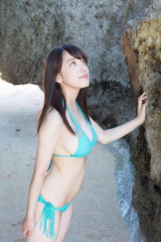 都丸紗也華 Fカップ水着グラビアがむっちりでセクシー 画像28枚 14