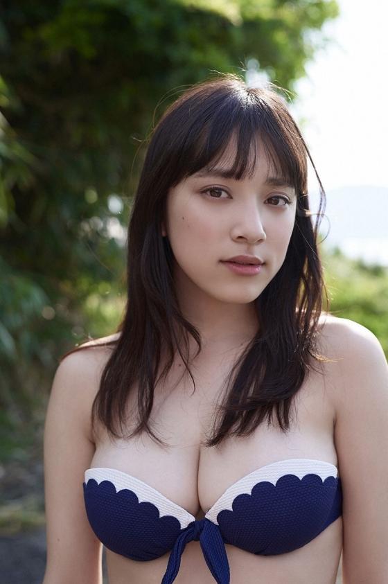 都丸紗也華 Fカップ水着グラビアがむっちりでセクシー 画像28枚 7