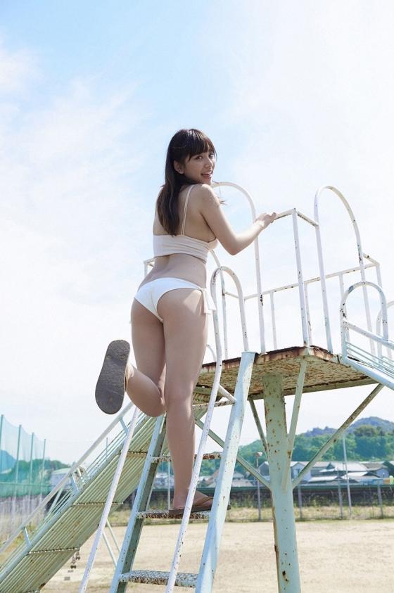 都丸紗也華 Fカップ水着グラビアがむっちりでセクシー 画像28枚 9