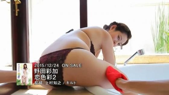 野田彩加 恋色彩2のFカップ谷間とお尻の着エロキャプ 画像52枚 19