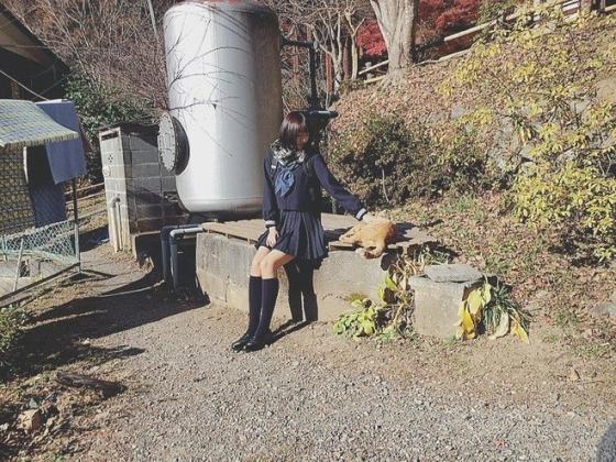 武田玲奈 マガジンの女子校生制服グラビア 画像27枚 7