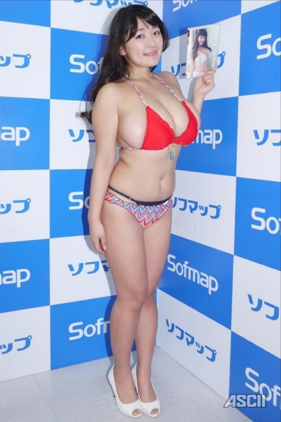柳瀬早紀 in blossomのソフマップ販促イベントのIカップ 画像20枚 3