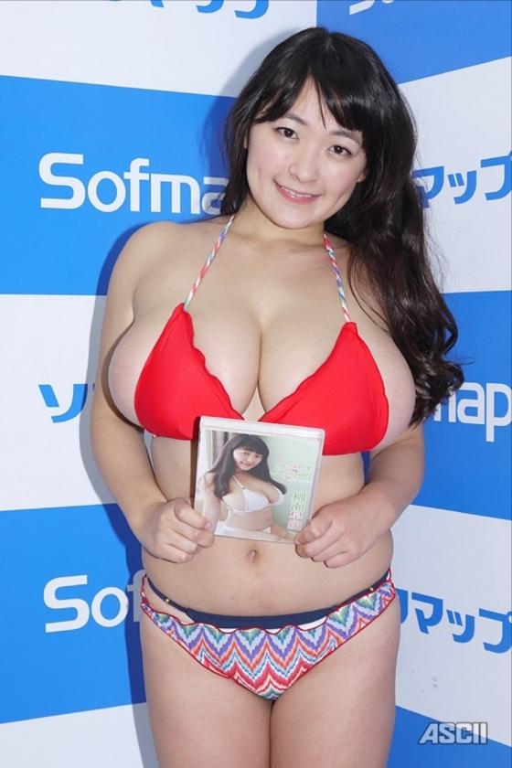 柳瀬早紀 in blossomのソフマップ販促イベントのIカップ 画像20枚 4
