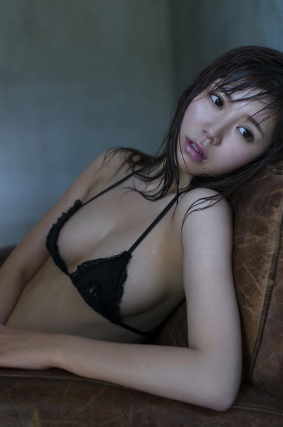 金子栞 happy smileキャプとFカップ水着グラビア 画像62枚 12