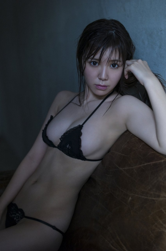金子栞 happy smileキャプとFカップ水着グラビア 画像62枚 14