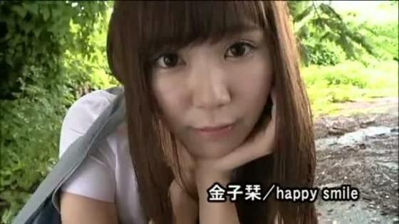 金子栞 happy smileキャプとFカップ水着グラビア 画像62枚 22