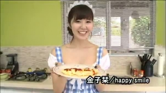 金子栞 happy smileキャプとFカップ水着グラビア 画像62枚 39